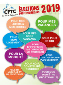 Elections CSE Générale de Téléphone,1er tour du 04 novembre (à partir de 10H00 ) au 12 novembre 2019 (jusqu'à 12H00).